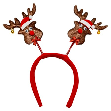 HEADBAND BOPPERS WITH REINDEER (6)
