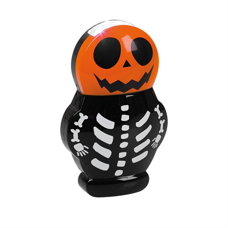 HALLOWEEN LED FLASH LIGHT SKELETON W. SOUND (6)