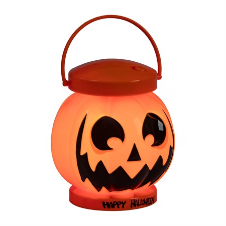 HALLOWEEN PUMPKIN LANTERN LIGHT AND SOUND