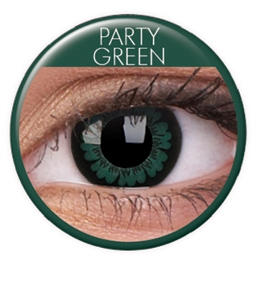 LINS BIG EYES PARTY GREEN 15 mm 202