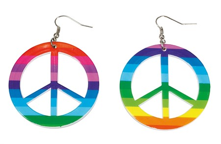 RAINBOW PEACE EARRINGS (12)