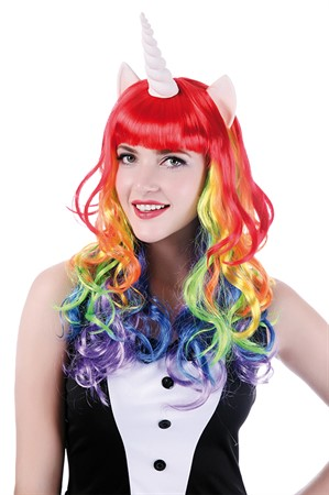 WIG RAINBOW UNICORN