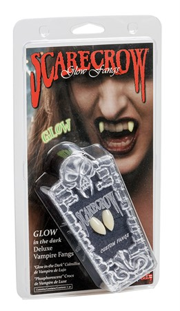 GLOW IN THE DARK CLASSIC DELUXE FANGS