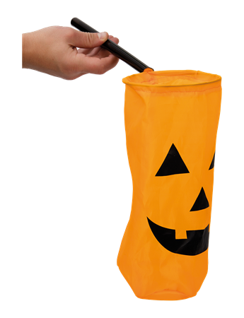 HALLOWEEN TREAT BAG ORANGE (6)