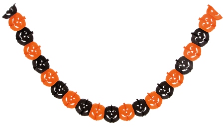 HALLOWEEN PUMPKIN GARLAND (6)