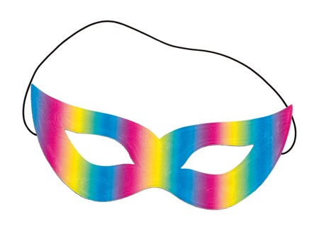 MASK REFLECTIVE RAINBOW (3)