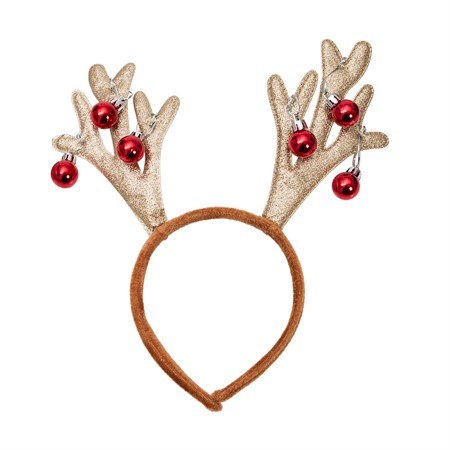 HEADBAND REINDEER JINGLE BELLS (3)