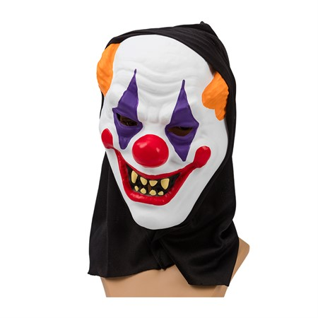 ADULT SILICONE MASK CLOWN