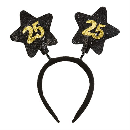 HEADBAND BIRTHDAY STAR 25 (6)