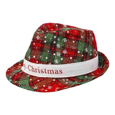 HAT MERRY CHRISTMAS FEDORA