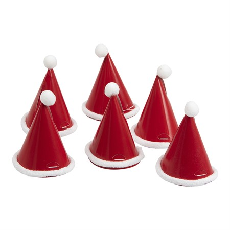 MINI CHRISTMAS PARTY HAT 6-P (6)