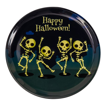 HALLOWEEN SKELETON TRAY