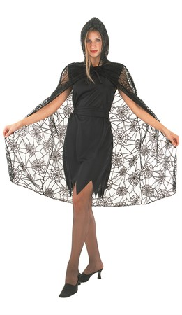 SPIDER LACE CAPE