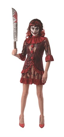 HORROR CLOWN DRESS S/M