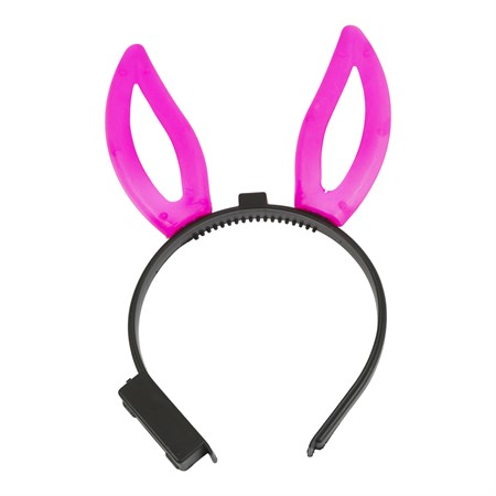 LED HEADBAND RABBIT PINK